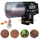 Petacc Alimentador Automático Acuario Multifuncional Comedero Peces Automático con Pantalla LCD y...