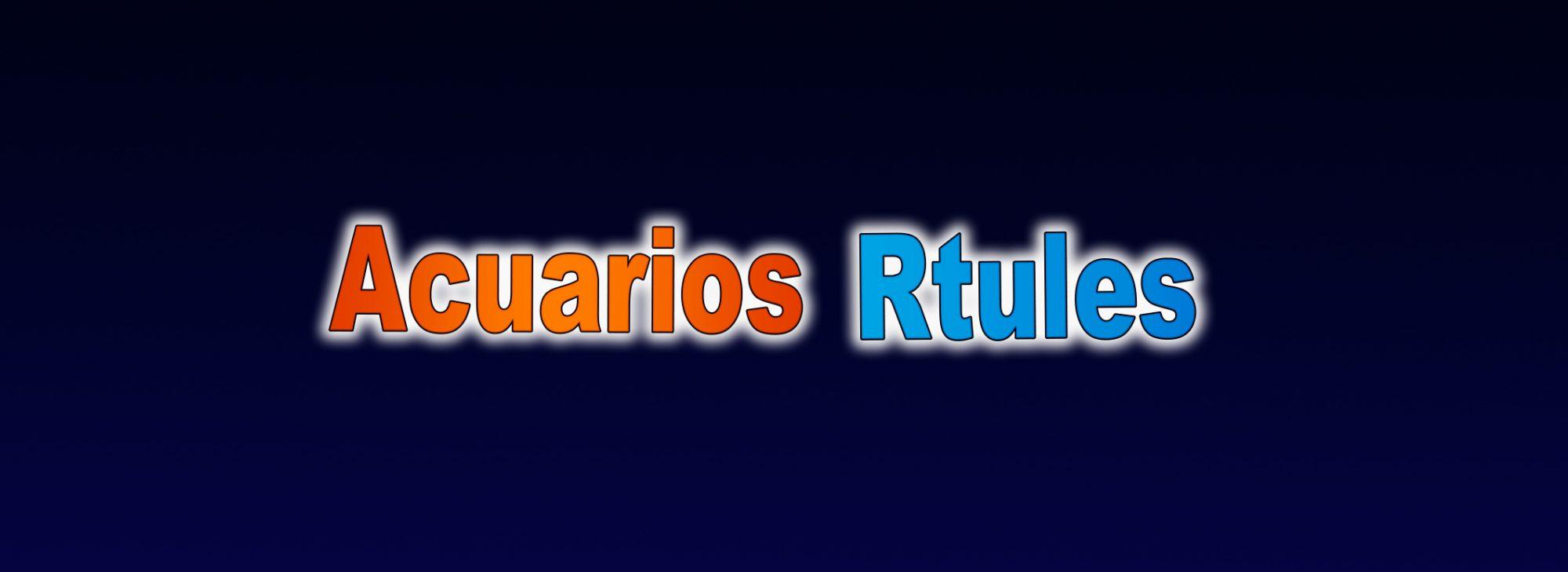 Acuarios Rtules