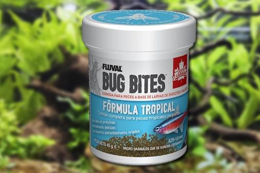 comida para peces FLUVAL BUG BITES