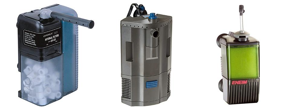 filtro interno para acuarios